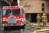 Basque Nightclub Fire : Los Angeles Fire Fighters at Hollywood &amp; Vine. Fire at Basque Nightclub
